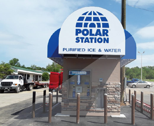Polar Station Purified Water